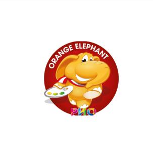 Оранжевый слон